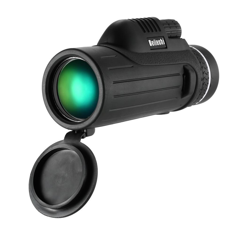 Powerful Waterproof Monocular Portable Compact 10X42 Monocular Telescope  Spotting Scope for Outdoor Bird Watch Wildlife Concert