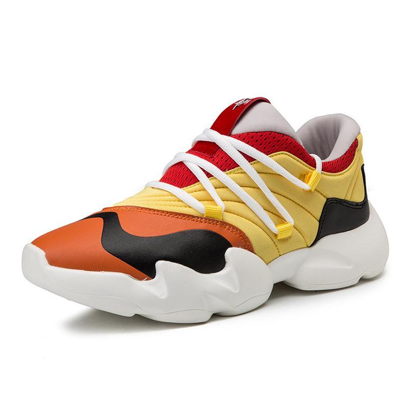 f95bbfcf41870c Men Casual Shoes Men Sneakers 2019 Kanye West Hip Hop Dancing Light ...