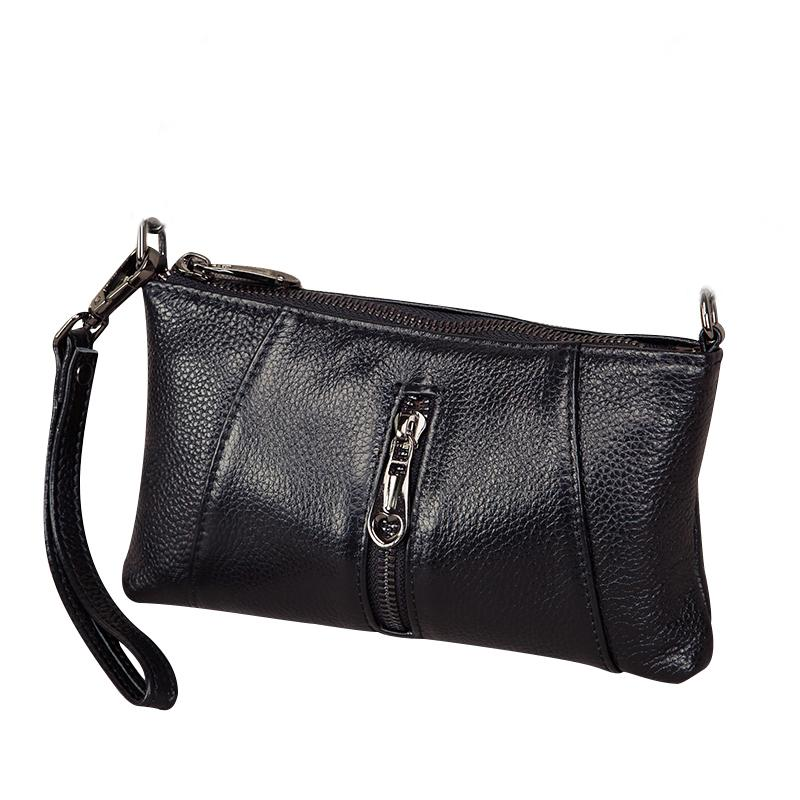 77537408d2c8 Genuine Leather Clutch Bag Women s Handbags Fashion Shoulder Bag ...