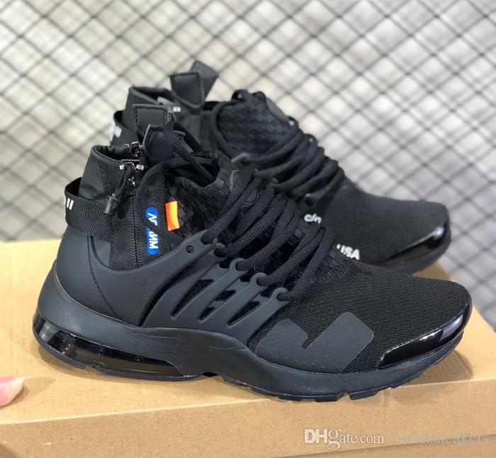 new products f72e4 ffea8 2019 Presto High Top Men Running Shoes Mens Trainers Tennis Zapatos Sneakers