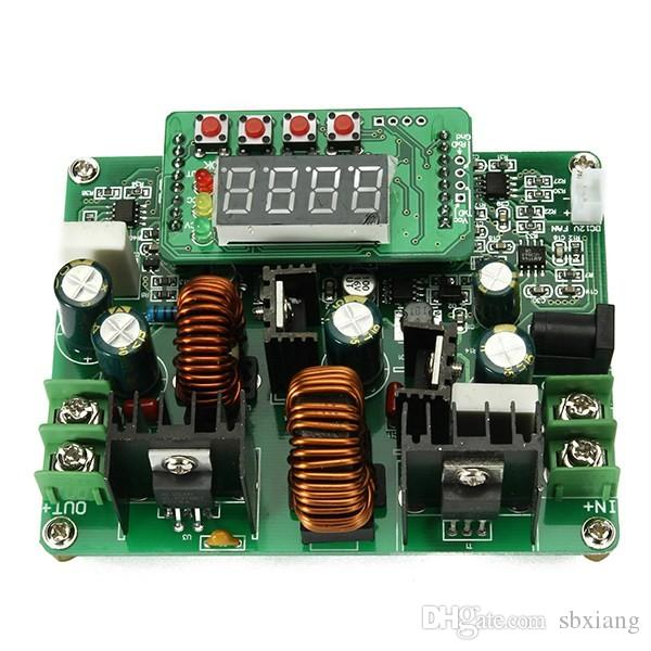 Freeshipping 1PC New D3806 NC DC Constant Current Power Supply Step Down  Module Voltage Ammeter