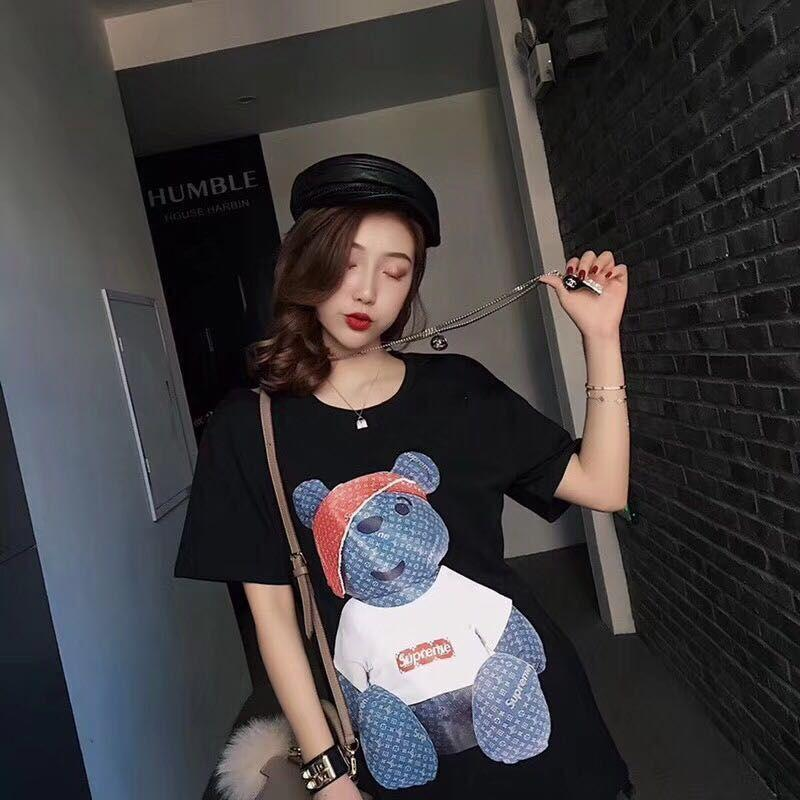 Womens Tshirt Pirate Bear a maniche corte per uomo e donna 2019 Nuovo arrivo Summer Top Tees Brand Clothes