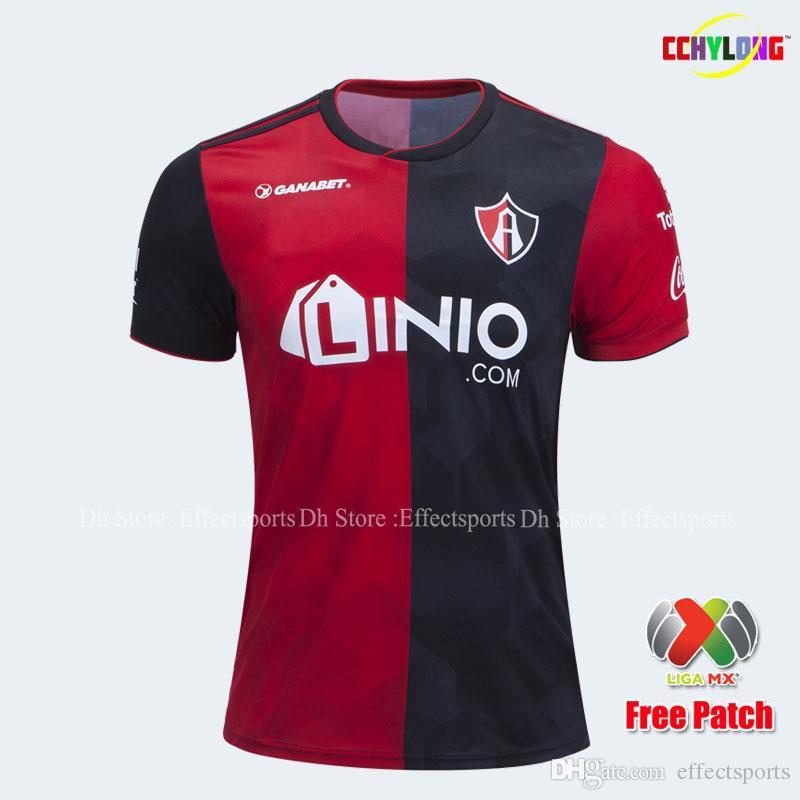 92d2f5b18fb 2019 2019 Atlas Soccer Jersey 18 19 Home ABOAGYE GARNICA GONZALEZ JIMENEZ 2018  Mexico Atlas Futbol Camisa Liga MX Football Shirts From Effectsports
