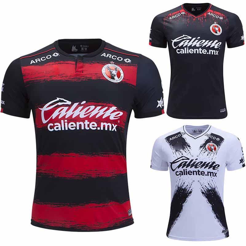 competitive price 31aaa 06842 Tops 2019/2020 Club Tijuana Home Soccer Jersey White 18/19 Away Football  Shirt 2018 Xolos 3rd Black camisetas de futbol Footbal Shirts
