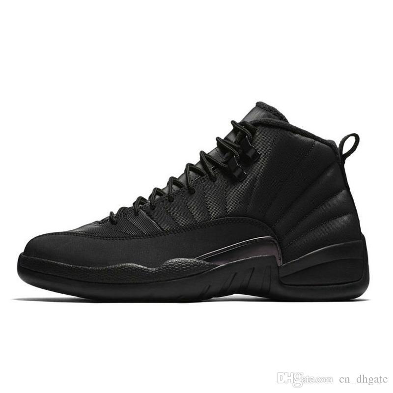 outlet store d2c31 d47ef Acheter 2019 RETRO AJ Chaussures De Basketball Pour Homme, Hiver 2016, WNTR  Gym Red Michigan Bordeaux 12, Blanc Le Jeu De La Grippe, Sport, Tennis,  Tennis, ...