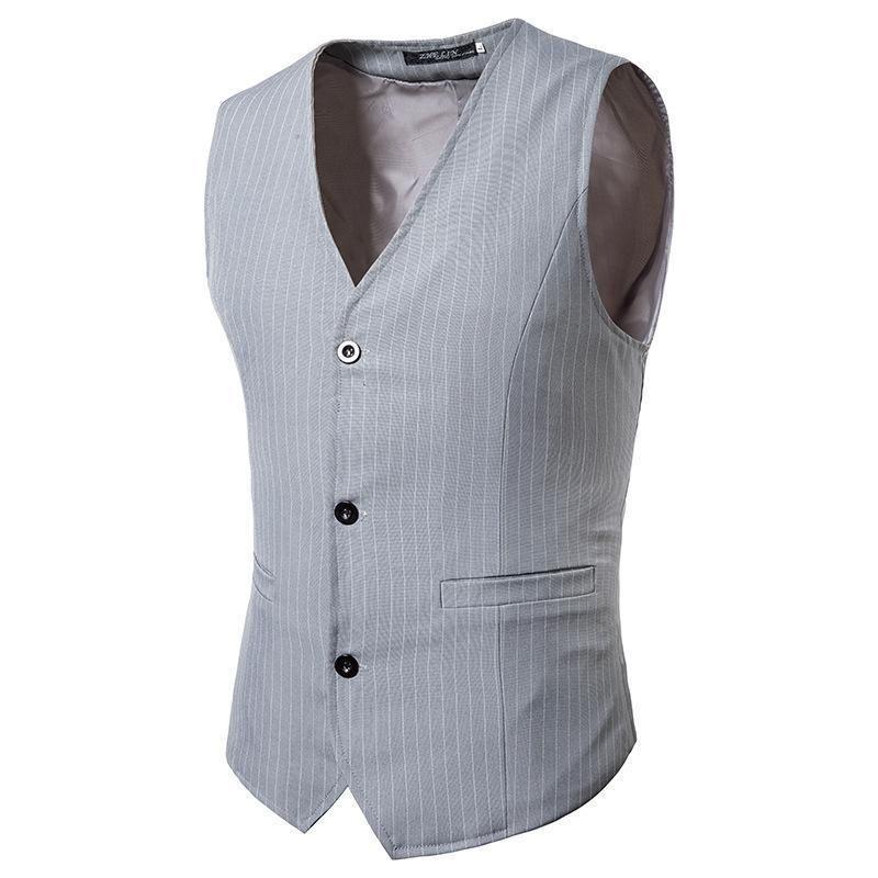 Acheter Mens Casual Patchwork Plus Size Vest Suit  9bfb9050dec