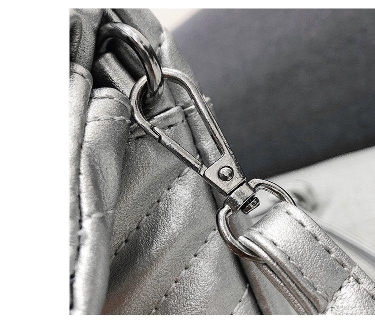 Borsa a tracolla busta donna Borsa a portafoglio argento oro a righe femminile Borsa a mano in pelle PU Borsa a mano tracolla borse a tracolla ROSSO