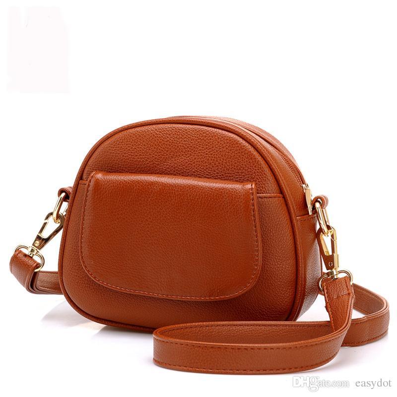 7fbbd6cd9ae9 Via FedEx Or DHL Women PU Leather Shoulder Bag