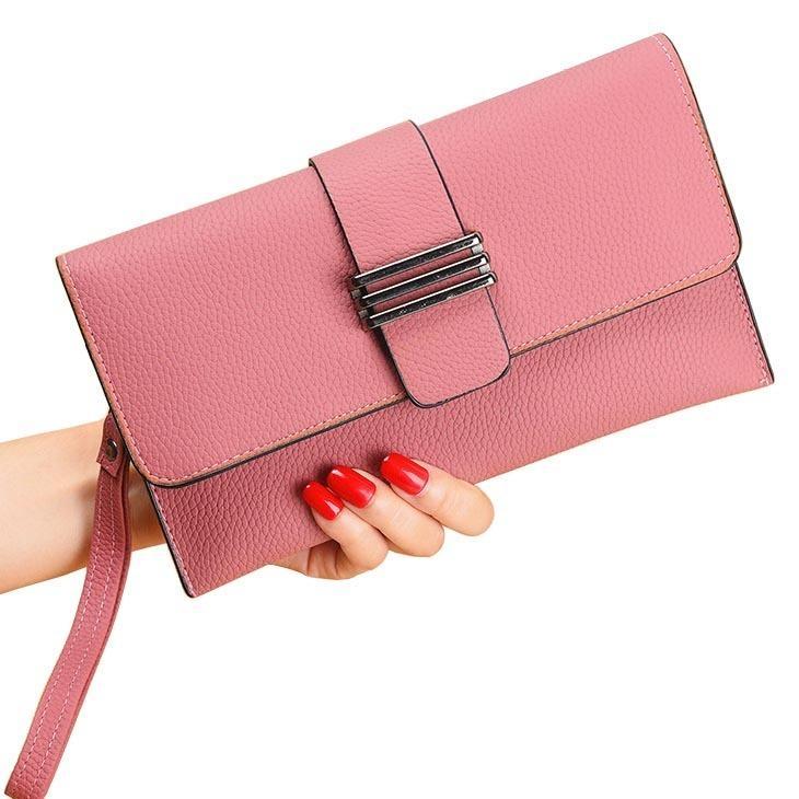 Lady Wristlet Handbags Women Envelope Messenger Bags Zipper Clutch Cross  Body Shoulder Bag Keys Phone Purses Tote Wallets Purse Womens Bags  Wholesale Bags ... c4a464c3e3