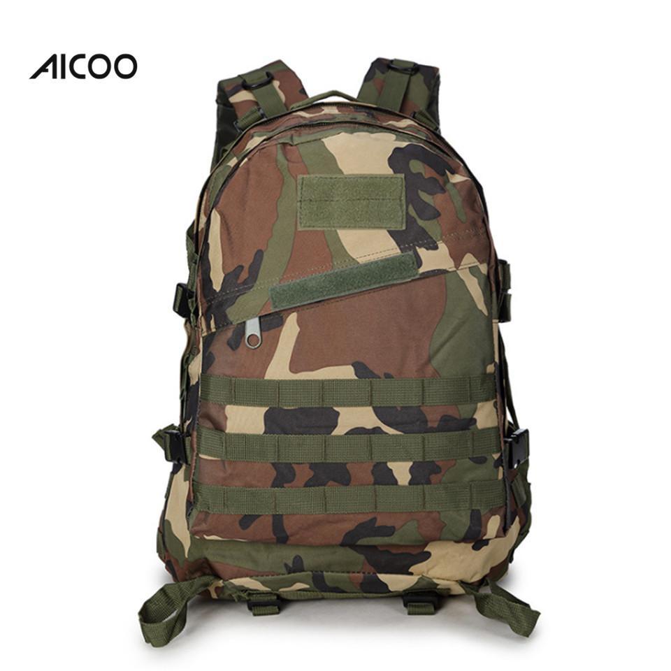 À Sac Haute Sacs Randonnée Dos Camouflage Attaque Tactique Trekking Opp Militaire Qualité 40l Aicoo Camping srhdtQC