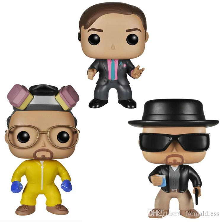 New Sale Funko POP break Bad Brinquedos # 162 HEISENBERG Vinyl Doll Action & Collection of Toy Figures Model Birthday Gift