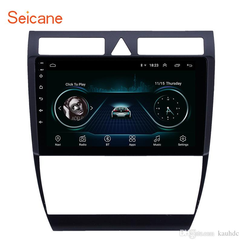 OEM 9 inch Android 8 1 Head Unit GPS Car Radio for 1997-2004 Audi A6 S6 RS6  with Bluetooth WIFI AUX USB support DVR OBD Rearview camera TPMS