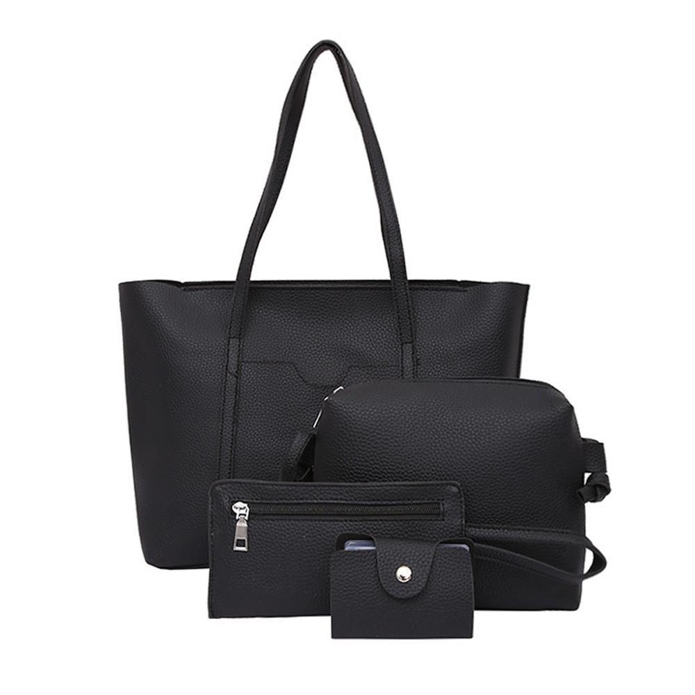Designer Women Bag Set Top Handle Big Capacity Female Tassel Handbag  Fashion Shoulder Bag Purse Ladies PU Leather Crossbody Bag    Ivanka Trump  Handbags ... f10143db2d