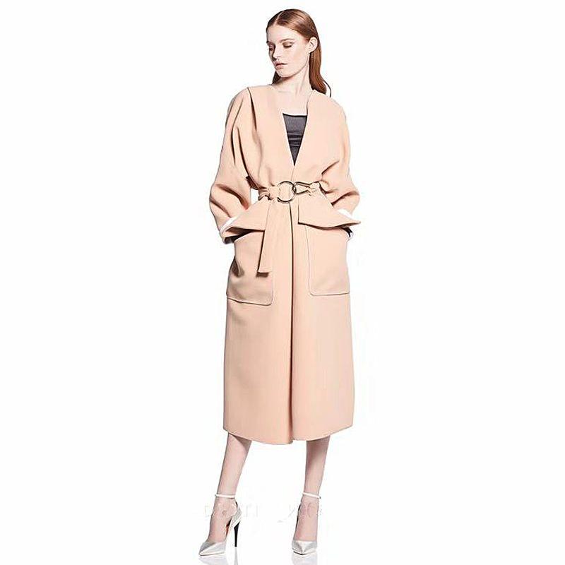 2019 Coat Runway High Quality 2018 Autumn Winter New Women S Fashion
