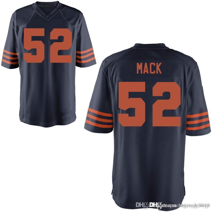 2019 Chicago Bears  52 Khalil Mack Jersey Mens 10 Mitchell Trubisky 54  Brian Urlacher 34 Walter Payton 24 Howard 29 Tarik Cohen From Big red shop 28d4d74e7