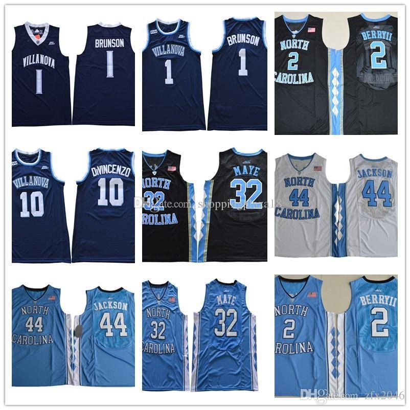 21e1ac7e1 North Carolina Tar Heels 44 Justin Jackson 2 Joel Berry 32 Maye ...