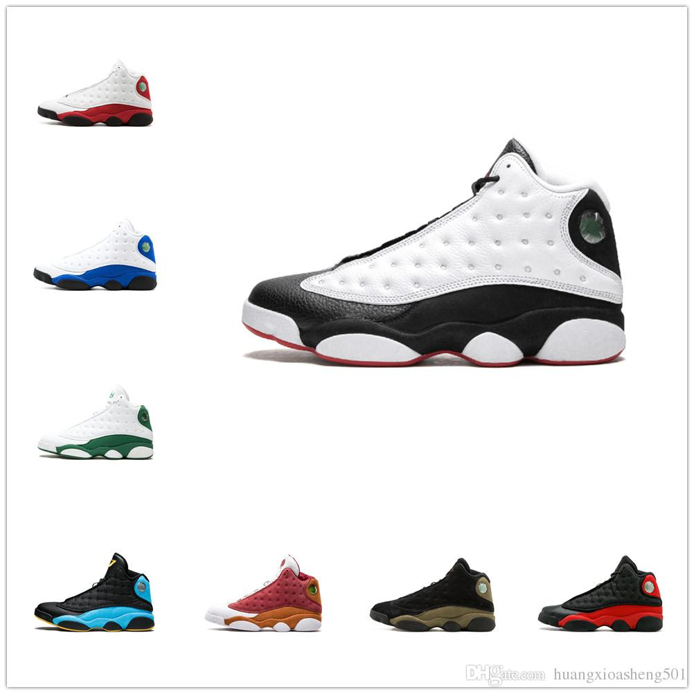 ffd85b63a9e66b Men Basketball Shoes 13 13s Sneakers Trainers Running Chicago 3M GS ...