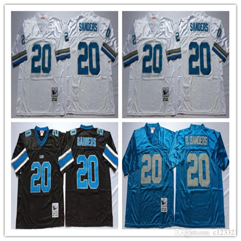 Wholesale barry sanders jersey black | Coupon code  free shipping