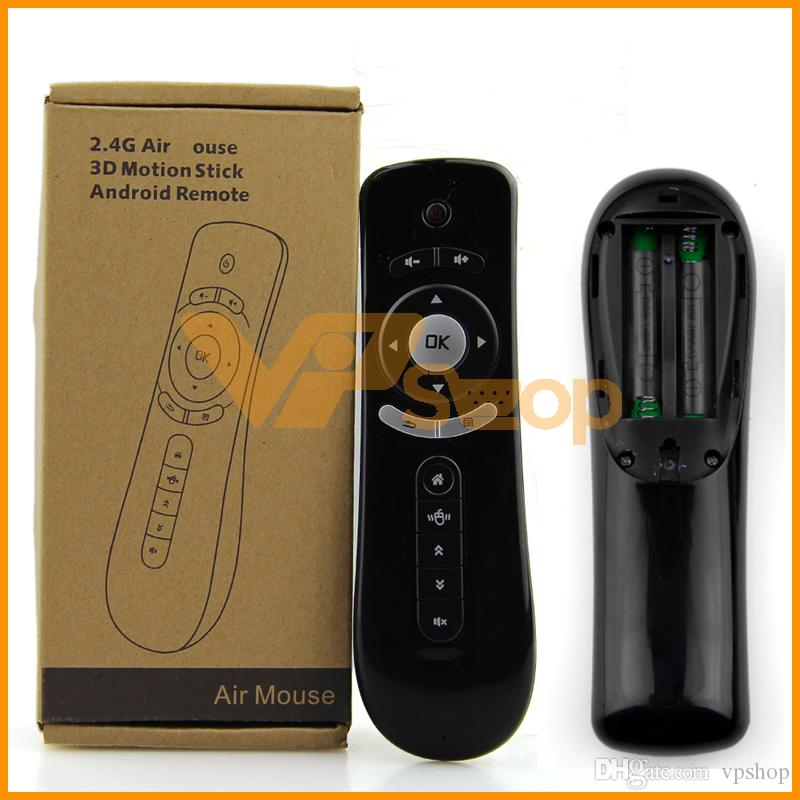 2.4G Remote Control Air Mouse Bluetooth USB Receiver For Smart TV Android Box US