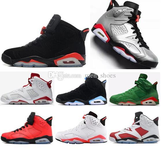 release date: 92d6c 8c87c 2019 New 6 Bred Infrared JSP Reflective Basketball Shoes Men 6s Hare  Alternate 91 Carmine White Infrared Sneakers High Quality With Box  Basketball Games ...