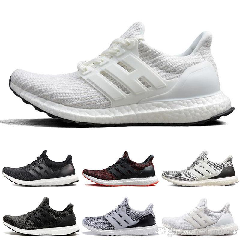 premium selection faf6f aa123 Compre Adidas Ultra Boost 3.0 4.0 Limitado UB 3.0 4.0 CNY Oreo Triple Blanco  Negro Multicolor Zapatillas De Deporte Zapatillas De Correr Para Hombre  Calzado ...