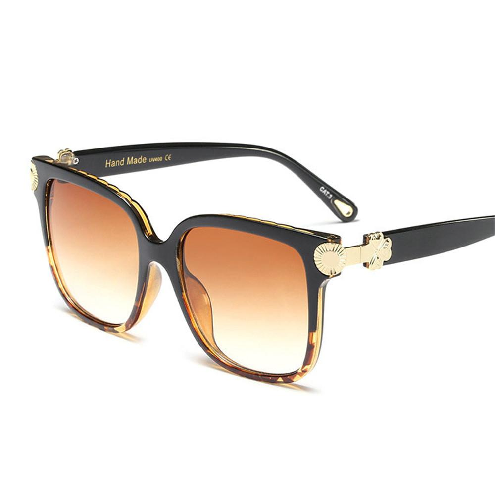 10ed1b5af49 Women Oversized Square Butterfly Sunglasses 2019 New Fashion Brand Designer  Men Vintage Big Frame Eyewear For Outdoor UV400 FML Oversized Sunglasses  Best ...
