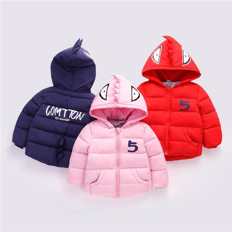 67d7abc1b Children Fashion Cartoon Outerwear 2018 Winter Warm Thick Down ...