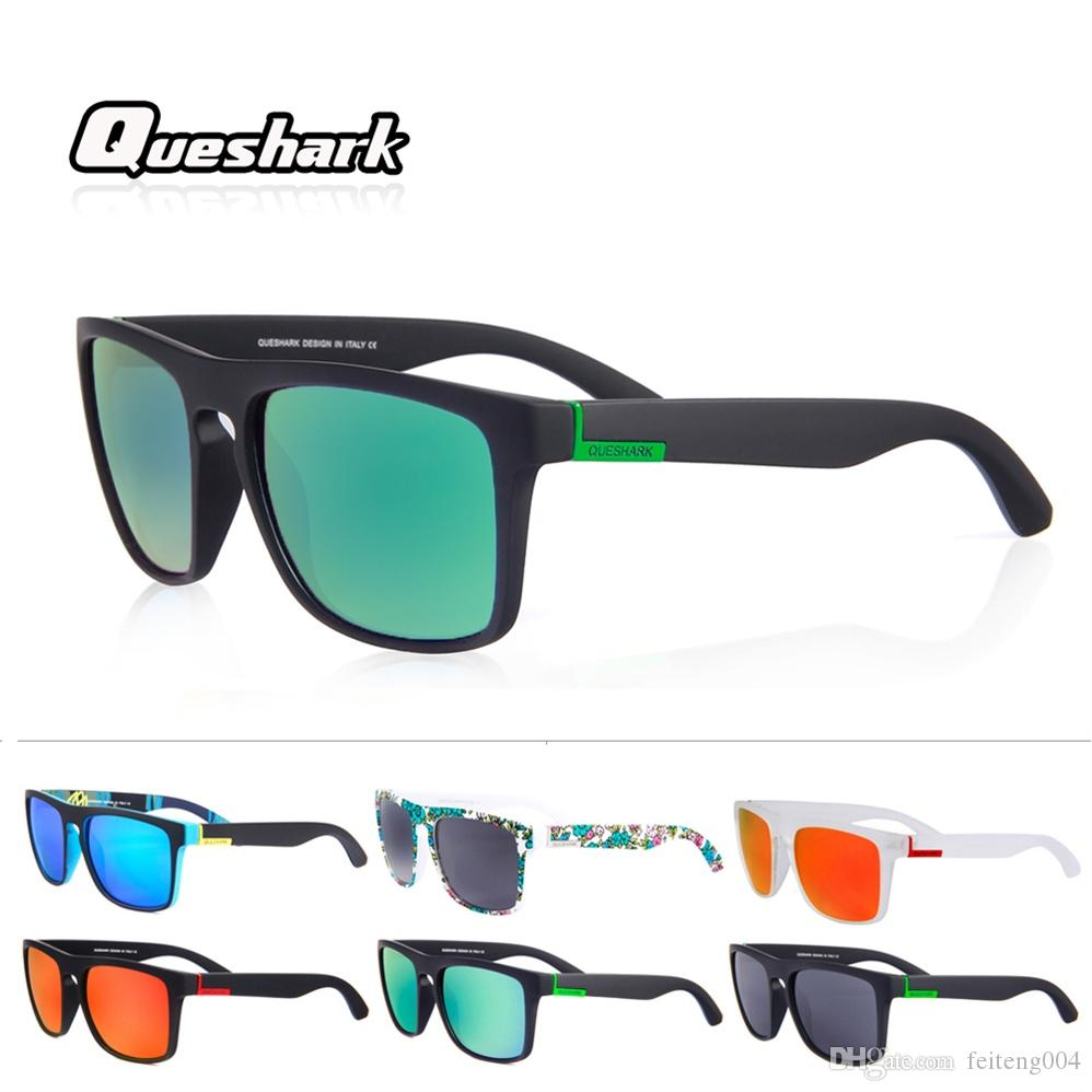 f25b8ad387ec Queshark Professional Polarized Cycling Glasses Bicycle MTB Road ...
