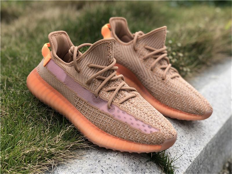 e4203bbdc1c78 2019 2019 Authentic 350 V2 Clay EG7490 Kanye West Man Women Running Shoes  True Form EG749 Hyperspace EG7491 Static EF2905 Athletic Shoes Size 13 From  ...