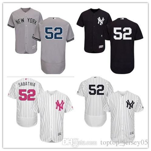 2019 2018 Can New York Yankees Jerseys  52 C.C. Sabathia Jerseys  Men WOMEN YOUTH Men S Baseball Jersey Majestic Stitched Professional  Sportswear From ... 15a53572c65