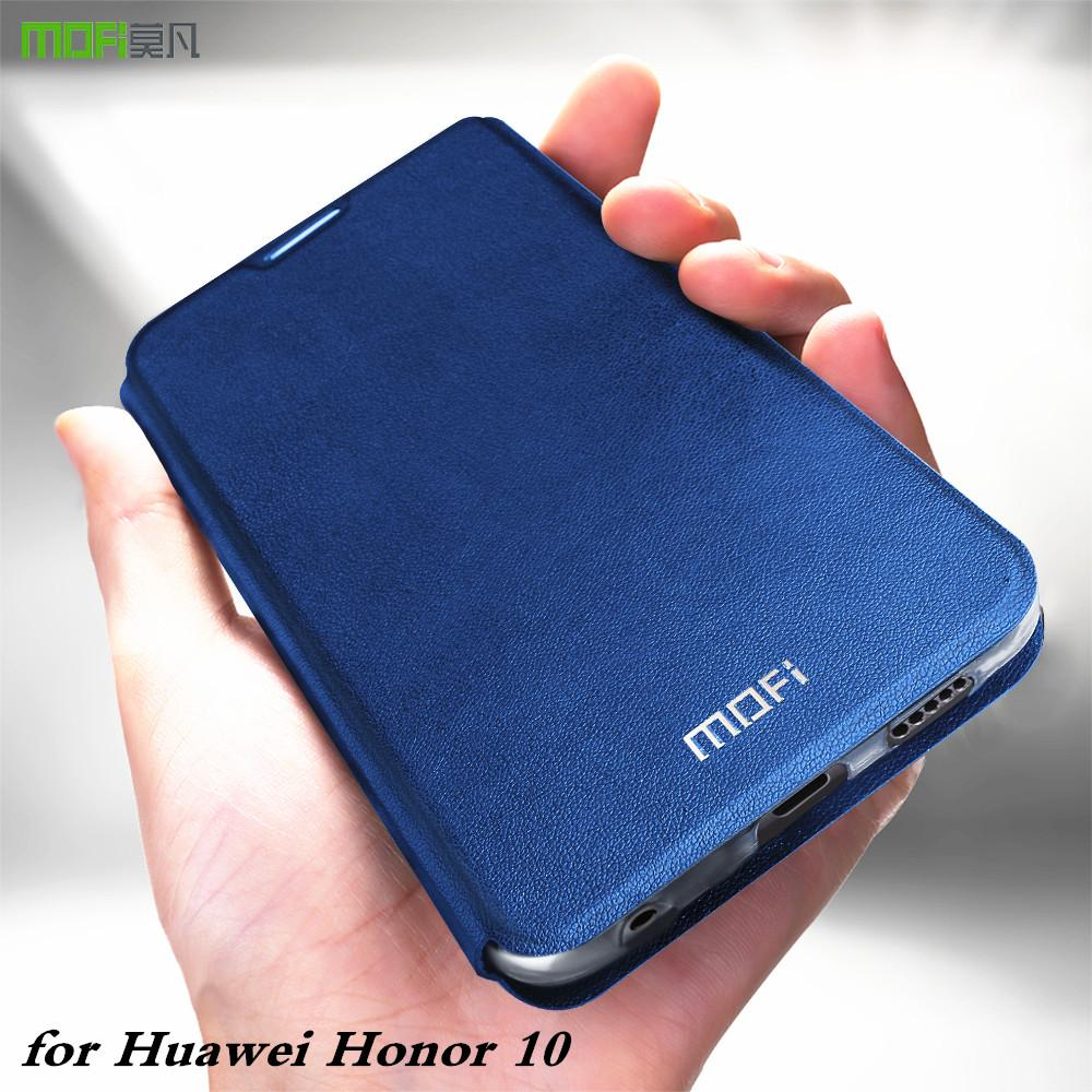 huge selection of 57254 19d06 wholesale Original Flip Case for Huawei Honor 10 Soft Cover for Honor10 PU  Leather for Honor Case Book TPU Silicone Conque