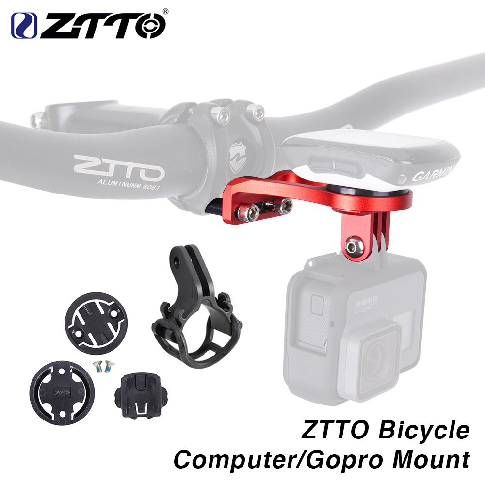 ZTTO Out-front Bike Mount For Garmin Cat Eye Bryton Bicycle Computer GPS GoPro Sport Camera Light Holder Handlebar Extension.