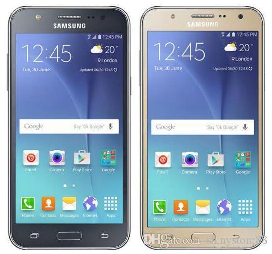 100% Original Samsung Galaxy J7 J700F Octa Core 1 5GB/16GB 13MP 5 5 inch  Single Sim 4G Lte Refurbished Phones