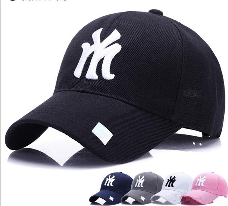 2018 Baseball Cap Embroidery Letter Sun Hat Adjustable Snapback Hip-hop Dance Cap Summer Outdoor Men's and Women's Visor TO620