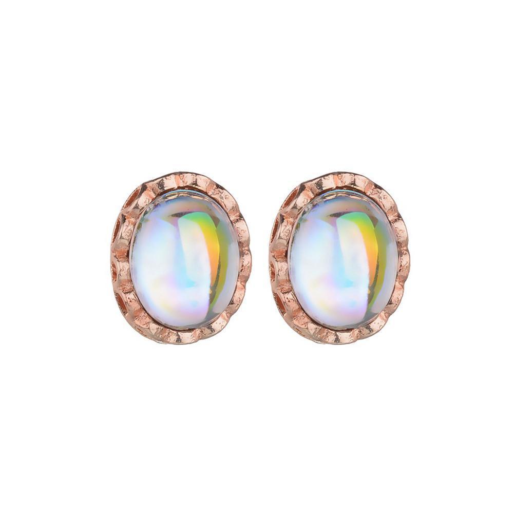 DreamBell / set Femmes De Luxe Opale Anneau Dormeuses Collier De Bijoux De Mariage