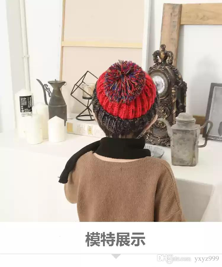 2018 Baby Hats 0 3 6 12 Months Old Baby Hats Autumn And Winter Baby Caps 1  2 Years Old Korean Male And Female From Yxyz999 b348475c00b