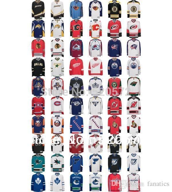 4ba5f38c523 2019 2016 Custom Hockey Team Jerseys With Any Number