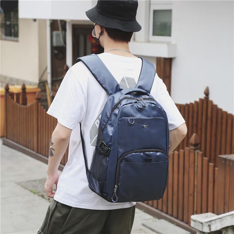 1Backpack Travel Both Shoulders Package Man Business Affairs Computer Zaino Studente A Borsa