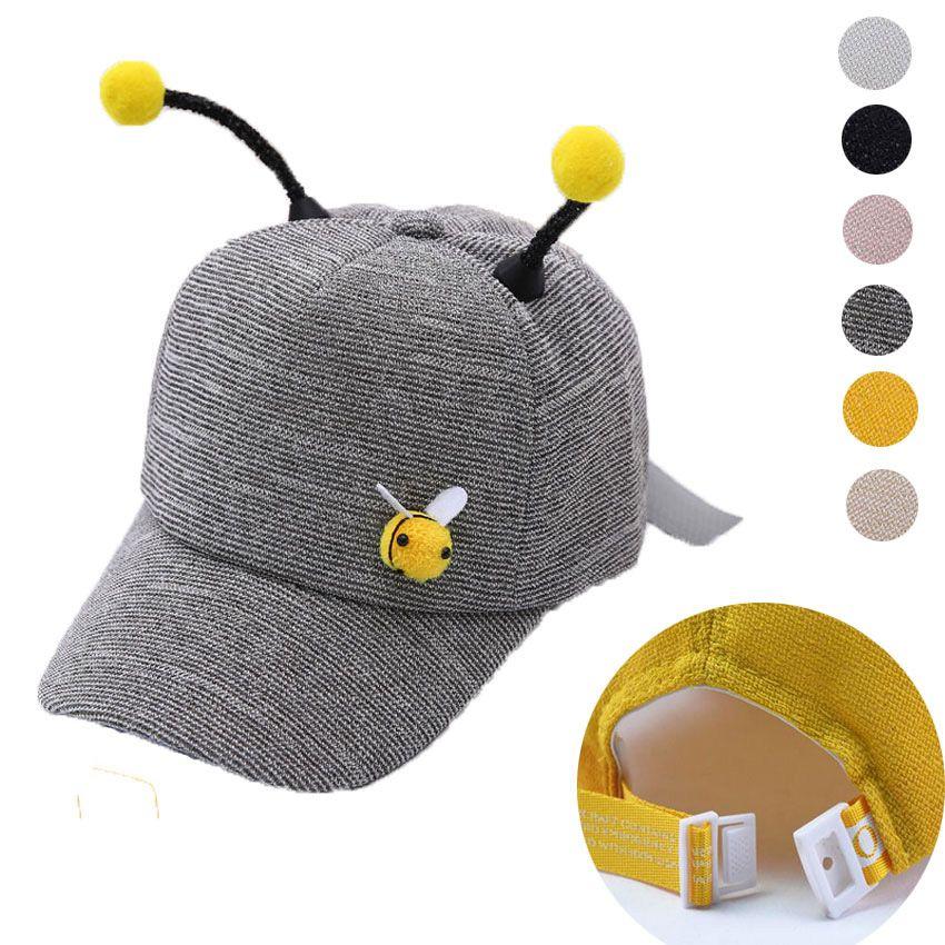 2fe2b09b7d6 Fashio Child Hats Girls Boy Baseball Hat Cap Kids Black Adjustable Baseball  Cap 2019 Summer Spring Novelty Cut Hats With Antenna Cheap Snapback Hats  Hats ...