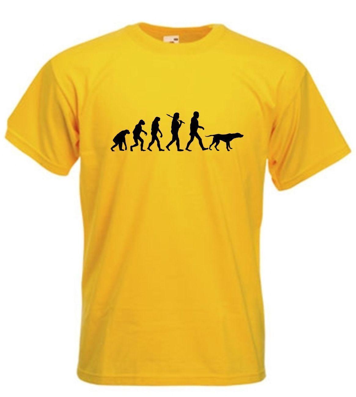 abda4aa2 EVOLUTION WALK THE POINTER T-SHIRT SIZES S-XXL Funny free shipping Unisex  Casual Tshirt top