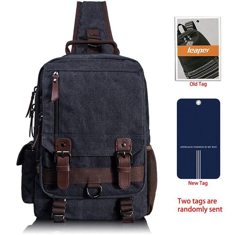 9ffa90cd03 Canvas Messenger Bag Sling Bag Cross Body Bag Shoulder Backpack Khaki  School Bags Designer Handbags From Qianyibag