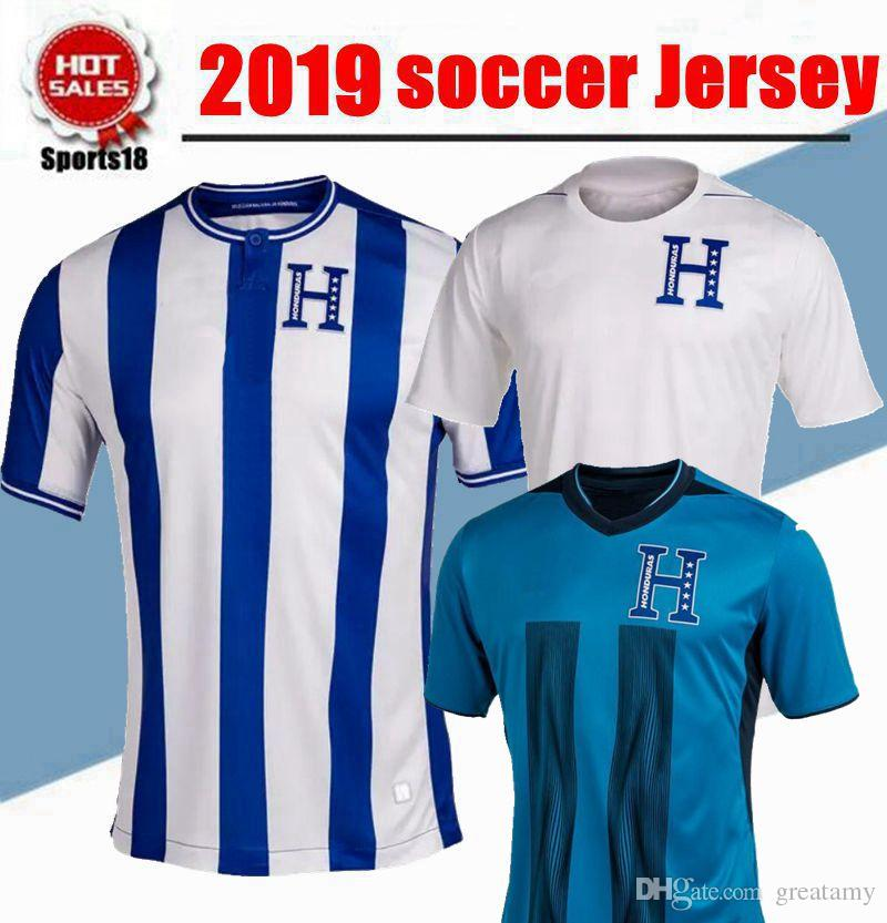 4b6a11336 2019 2019 2020 Honduras Soccer Jerseys 19 20 QUIOTO Jersey ELIS Soccer Shirt  LOZANO Football Shirt From Greatamy