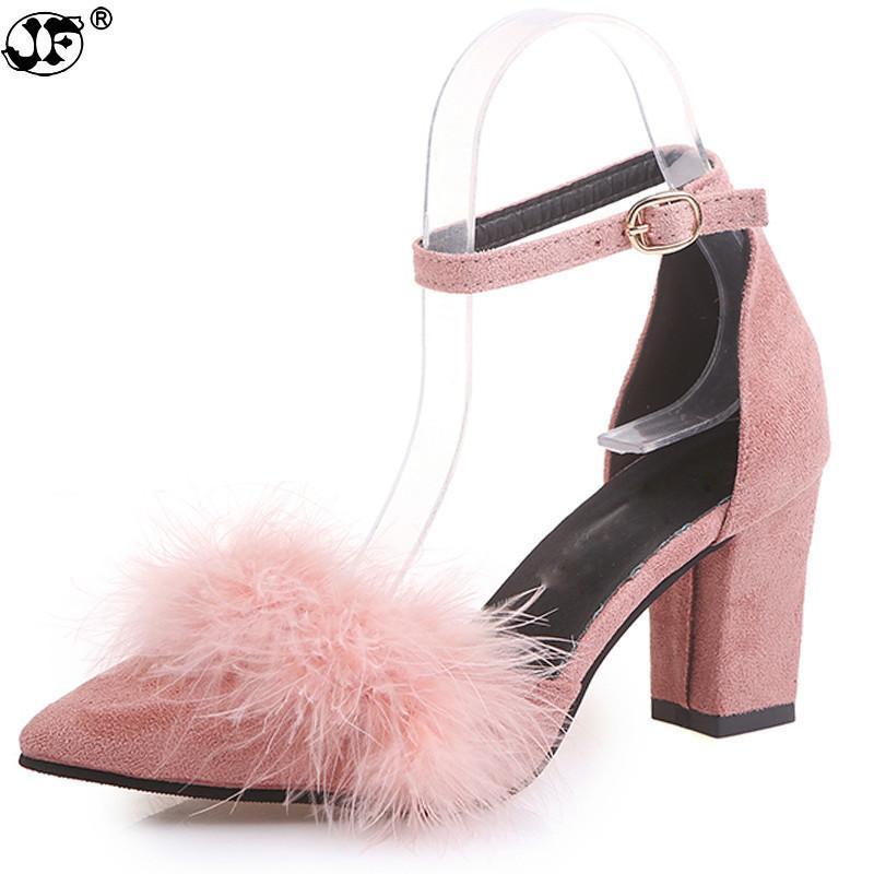 0a4c3fd3202 Designer Dress Shoes 2019 Spring Classic Women Pumps Pointed Toe 7.5 ...