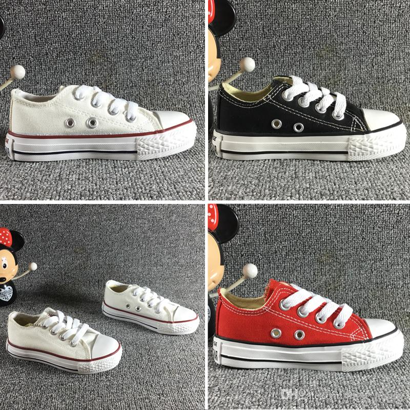 free shipping kids Children/'s sports shoes Boys girls canvas casual Sneakers