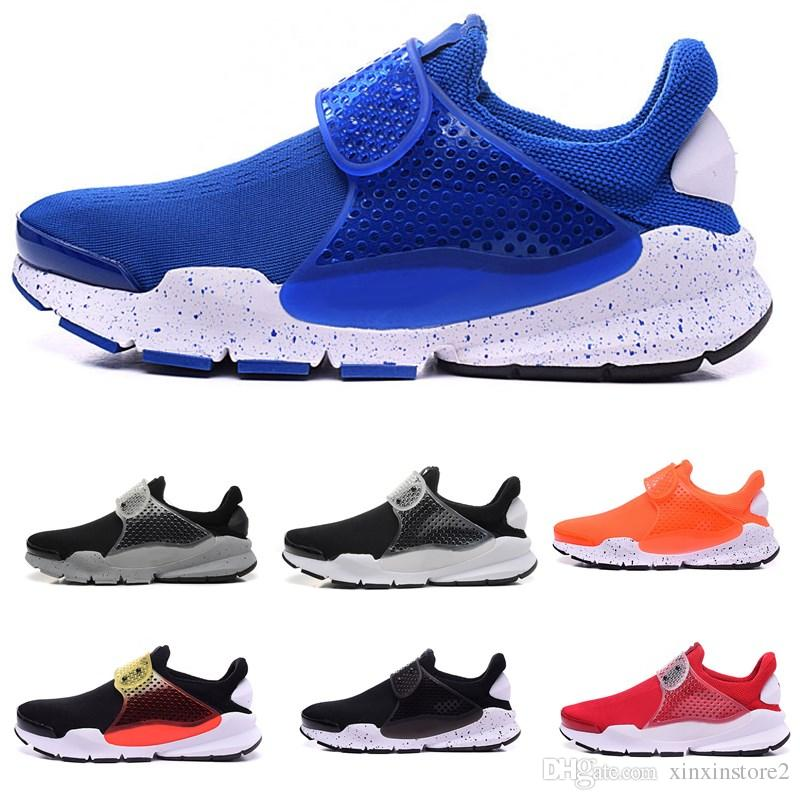 newest 5bf97 ebaab 2019 Hot Sale Presto Mesh Sock Dart Men Women Casual Shoes GPX Black white  blue High Quality Fashion Casual shoes 36-45