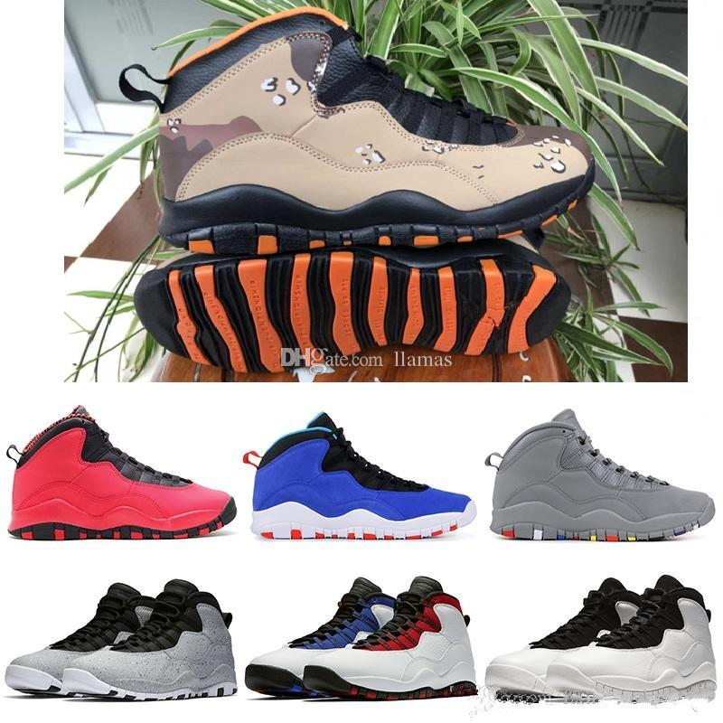 e8b233385df02d 2019 New Color Desert Camo 10 Kids Basketball Shoes Tinker Westbrook Cement  10s Kids Men Sports Sneakers Cool Grey Fusion Red Drop Shipping Trail  Running ...