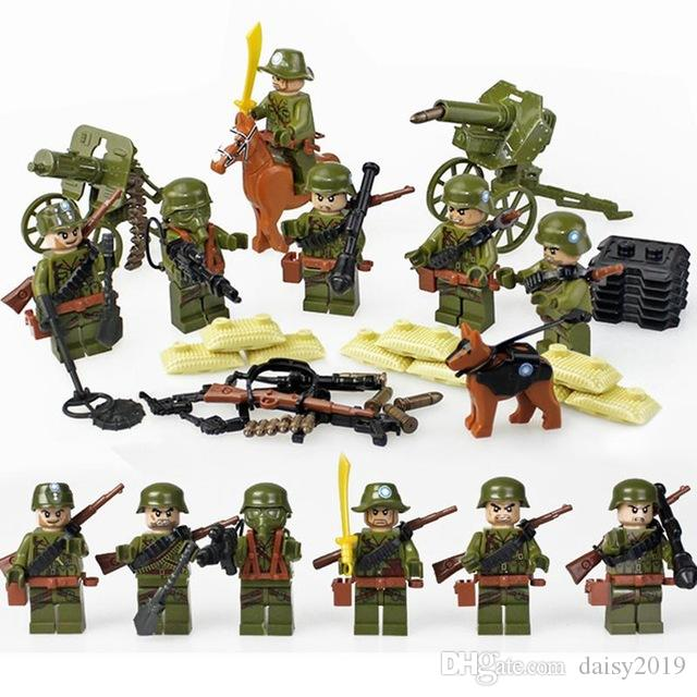 D71001 WW2 Military Army Soldiers Gifts Educational Toys For Children Military Weapons Legosite Thelego From Daisy2019, $43.22| DHgate.Com