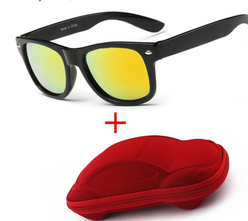 f04ef7334f Compre Fresco 6 15 Años Gafas De Sol Para Niños Gafas De Sol Para Niños  Niños Niñas Moda Gafas De Protección Lente UV 400 Protección Con Estuche A  $14.73 ...