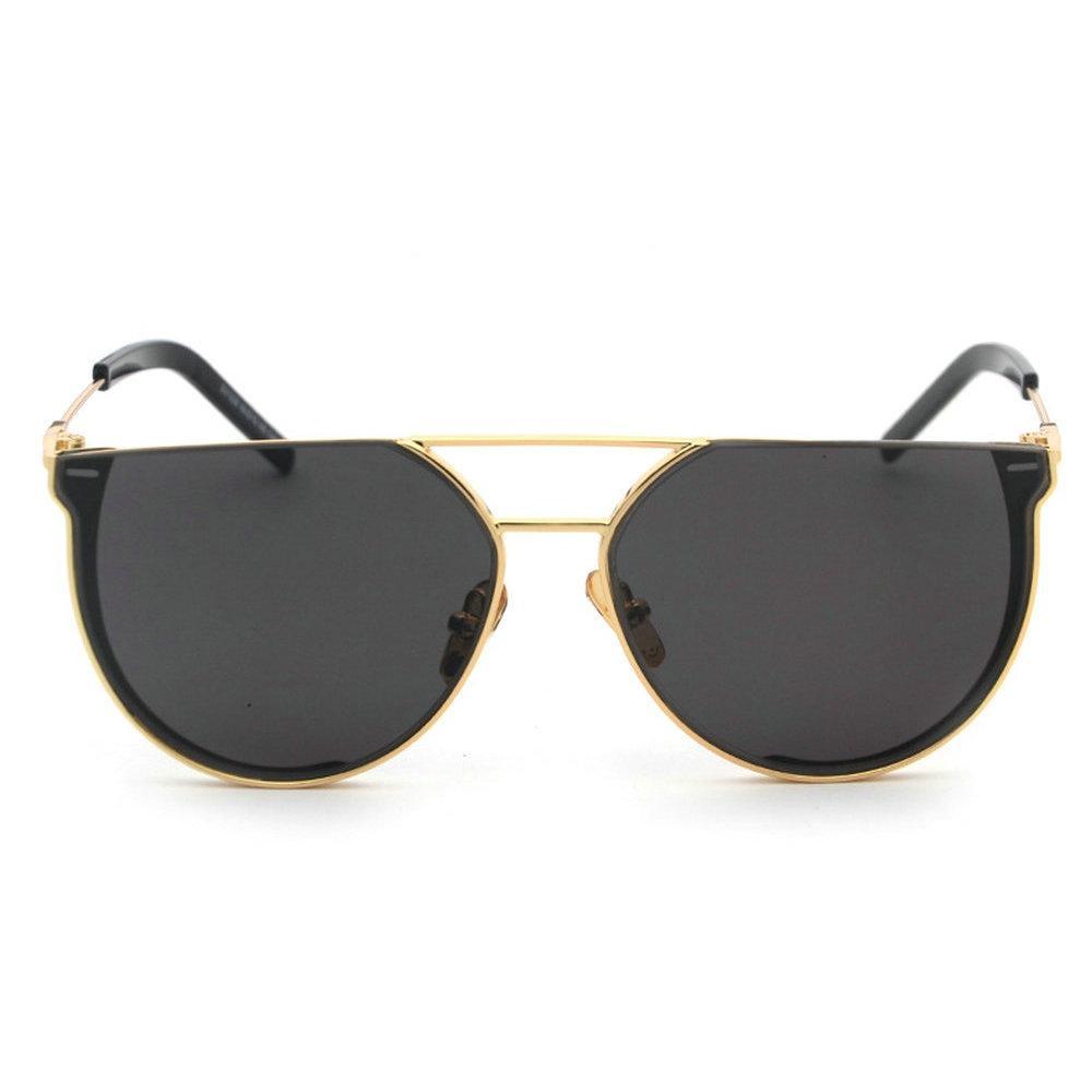 e5de4731c41a MINCL  New Punk Style Oversized Sunglasses Vintage Metal Round ...