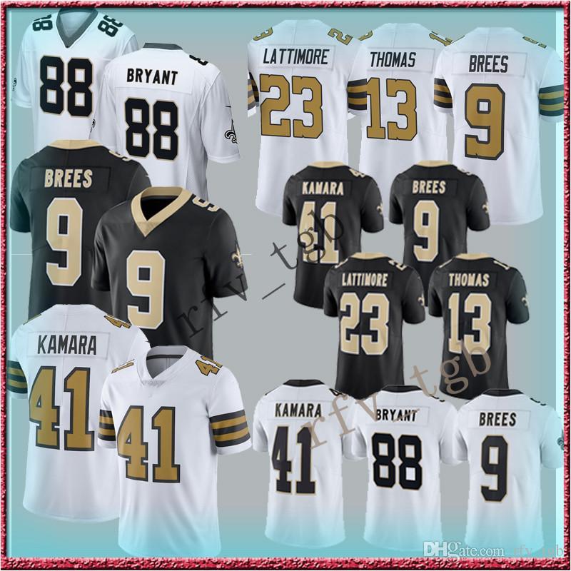 2019 9 Drew Brees 13 Michael Thomas New Orleans Jerseys Saints 41 Alvin  Kamara Jersey 23 Marshon Lattimore 28 Adrian Peterson 88 Dez Bryant From  Rfv tgb 61b596f54